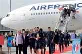 Euro-2020 : l'avion, incontournable mode de transport des footballeurs