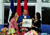Une délégation du PCV en visite de travail au Nicaragua