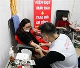 Hanoï lance une campagne de don de sang