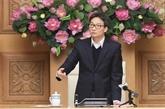 Le vice-Premier ministre Vu Duc Dam préside une réunion sur le COVID-19