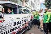 L'Indonésie commencera à utiliser à titre d'essai du biodiesel B40 en mars