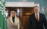 Pompeo discute avec le ministre saoudien des AE de leurs relations