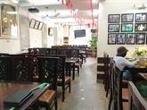 Les restaurants désertés à cause du nouveau coronavirus