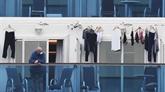 Le Japon s'apprête à évacuer des passagers âgés du bateau en quarantaine
