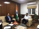Le Vietnam et l'Inde renforcent leur coopération dans le commerce