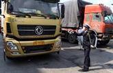 Proposition de transporter des marchandises via des portes frontalières