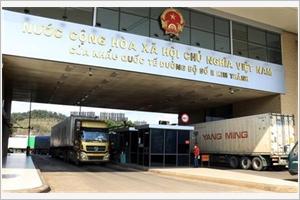 COVID-19  pas dactivités dimport-export supplémentaires aux portes frontalières