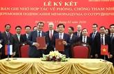 Le Vietnam et la Russie renforcent leur coopération anti-corruption
