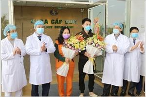 COVID-19  deux patients sont sortis de lhôpital