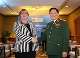 Le ministre vietnamien de la Défense reçoit son homologue australienne