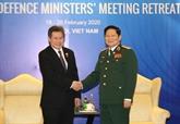 Le ministre vietnamien de la Défense reçoit le secrétaire général de l'ASEAN