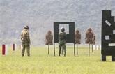 Vietnam - Australie : formation sur les techniques de tir au fusil militaire