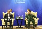 Défense : le Vietnam et la Thaïlande plaident pour des liens accrus