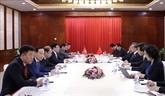 Pham Binh Minh rencontre les chefs de la diplomatie chinoise et laotienne