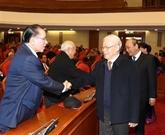 Nouvel An lunaire : rencontre d'anciens hauts dirigeants du Parti et de l'État