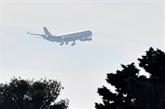 Un nouvel avion rapatriant des personnes de Chine atterrit en France