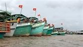 Dà Nang : installation de dispositifs de surveillance des bateaux de pêche