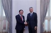Singapour souhaite promouvoir une coopération multiforme avec le Vietnam