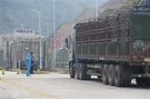 COVID-19 : la porte frontalière de Tân Thanh reprend offiellement ses opérations de dédouanement