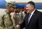 Arabie : Pompeo visite les troupes américaines lors d'une visite axée sur l'Iran