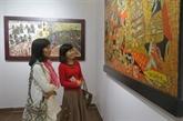 Le 3e concours et exposition de peinture graphique de l'ASEAN 2020