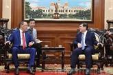 Des entreprises kazakhes sont satisfaites de l'environnement d'affaires à Hô Chi Minh-Ville