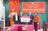 COVID-19 : Agribank remet 800 millions de dôngs à Vinh Phuc