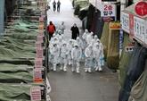 En R. de Corée, appel aux fidèles de la secte touchée à se faire dépister