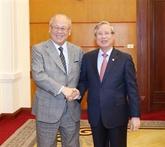 Le conseiller spécial de l'Alliance des députés d'amitié Japon - Vietnam à Hanoï