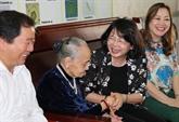 La vice-présidente vietnamienne Dang Thi Ngoc Thinh visite la province de Cà Mau