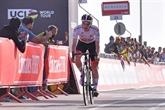 UAE Tour : Pogacar vainqueur d'un souffle au sommet