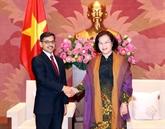 Les relations Vietnam - Inde en développement fructueux