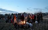 Grèce : des centaines de réfugiés bloqués à la frontière avec la Turquie