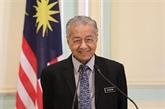 Mahathir se porte à nouveau candidat au poste de Premier ministre malaisien