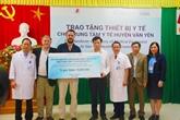 Aides australiennes pour prendre soins des nouveaux-nés au Vietnam