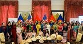 Des activités d'échange entre des femmes de l'ASEAN aux États-Unis