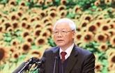 Nguyên Phu Trong affirme le prestige et la capacité dirigeante du Parti