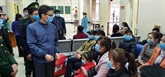 Coronavirus : Le vice-PM Vu Duc Dam inspecte les mesures de prévention