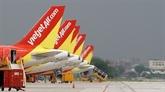 Le chiffre d'affaires du transport aérien de Vietjet augmente de 25% au 4e trimestre de 2019
