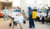 nCoV : exercice de prévention à l'Hôpital central de Huê