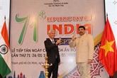Célébration du 71e anniversaire de l'Inde à Hô Chi Minh-Ville