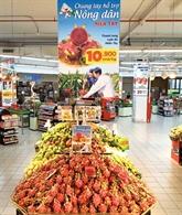 Big C soutient les agriculteurs dans la vente des fruits du dragon et des pastèques