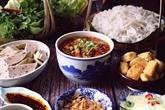 Soupe de crabe aux nouilles de riz Chu