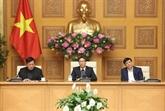 Vu Duc Dam préside une réunion sur les mesures face au nCoV