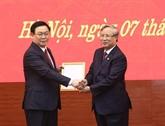 Le Comité du Parti de Hanoi a un nouveau secrétaire