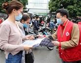 La Croix-Rouge du Vietnam sensibilise à l'épidémie du nouveau coronavirus