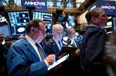 Wall Street, reprenant son souffle après des records, termine en baisse