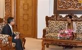 La conseillère d'État du Myanmar souligne l'importance des liens avec le Vietnam 