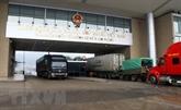 Coronavirus : reprise du dédouanement au poste frontière de Lào Cai