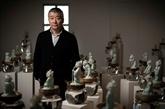 Les visages bouquets de fleurs de Ru Xiao Fan au Musée Guimet